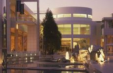 The Getty Centre houses the Getty collection of antiquities.