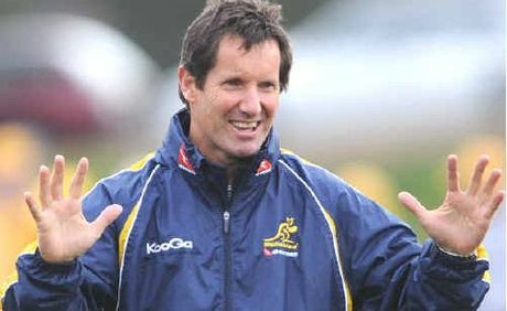 Wallabies coach Robbie Deans.