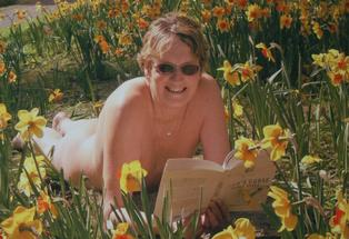 Naked truth about nudist lifestyle. Pictured is Glenne Findon who is a naturist. Photo: Supplied.