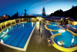 Mount Maunganui Hot Pools.