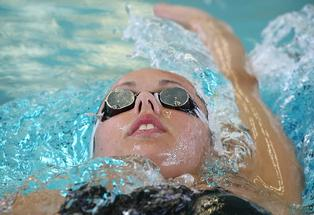 New Zealand swimmer Penny Marshall. Photo: Greg Bowker/File.
