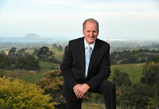 Western Bay Mayor Ross Paterson.