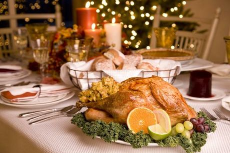 Roast turkey - adds a delicious dimension to Christmas dinner.