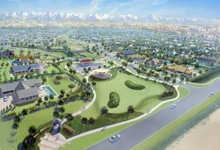 An artist's impression of the Preston Downs subdivision - adding to the rapid growth of West Melton.