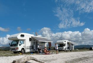 GREAT OPPORTUNITY: Freedom camping, where travellers live in their vehicle away from official camp grounds, can be a benefit to the region if it's well managed.