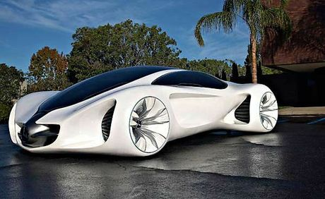The Mercedes-Benz Biome concept car.