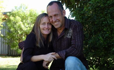 Shane Urban with his wife Jennifer.