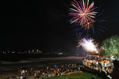 New Year's Eve at Mooloolaba.