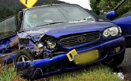 car crash tyalgum car crash
