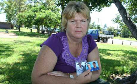SAVING MEMORIES: Biloela woman Jackie Kington wanted to help flood victims save photos lost in the floods. She knows how precious photos of loved ones can be, having lost both her husband and a son in recent years.