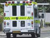 A man has been taken to hospital following the crash on State Highway 2 this morning.