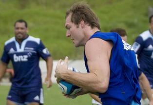 Seventy Seven-Test veteran Ali Williams will captain the Blues in 2013