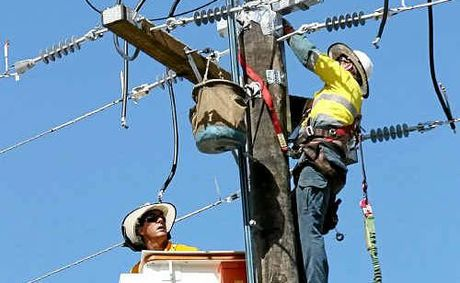 Ergon Energy says frontline services will be protected under job cuts.