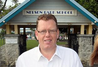 Nelson Park school Principal Nevan Bridge