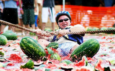 The 2011 Chinchilla Melon Festival gets off to a wild start today.