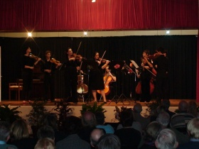 Classics in the Conservatory in Blackbutt Memorial Hall performed by Brisbane Philharmonic Chamber Orchestra members in 2010