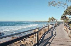 Caloundra boardwalk.