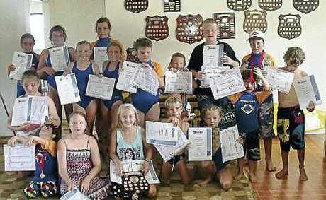 Red Rock-Corindi nippers celebrate another good season on the beach.
