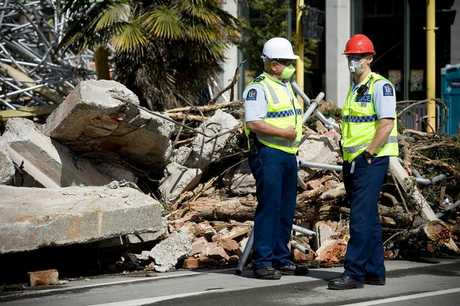 BIG BILL: The cost of earthquake damage totals $10 billion. PHOTO/APN