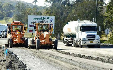An estimated $7.7 billion is still required for the upgrade of the Pacific Hwy to dual carriageway.