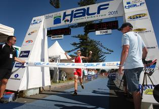 Graham O'Grady says he'll try to win his title back at next year's Tauranga half-ironman.