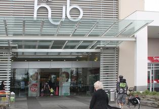 The Hub Hornby was one of the few undamaged shopping centres operating in the days following the February 22 earthquake.