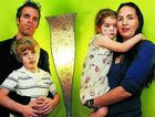 Goonellabah couple Mark and Emily Joosse, pictured with their children Zion, 5, and Heaven ,3, have to closely watch their weekly budget in the face of soaring living costs.