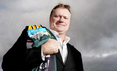 Ipswich Jets chairman Steve Johnson