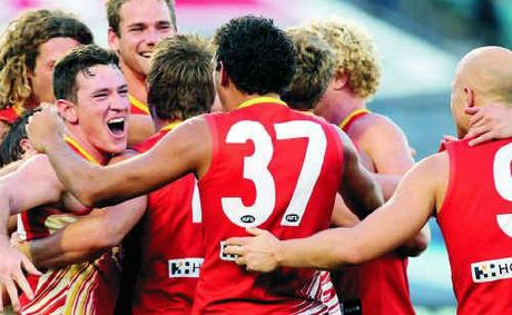 Gold Coast looked at life without Gary Ablett in the midfield, and saw that it was good.