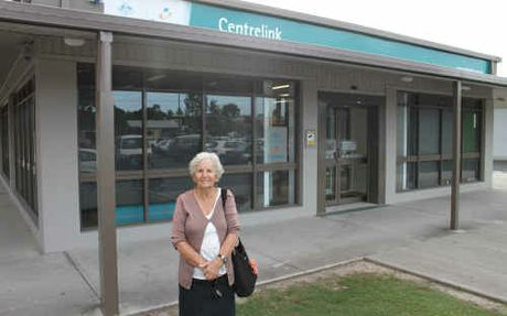 Dolly Green is pleased she will now have access to a greater range of Centrelink services at the new Yamba office.