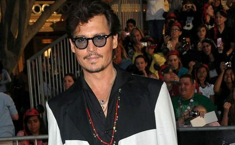 Johnny Depp is back in 'Pirates of the Caribbean: On Stranger Tides'.