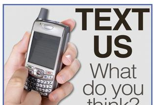 Text us what you think: 021 980 222