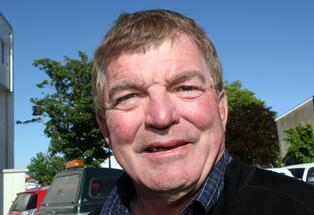Listening: Masterton district councillor Gary Caffell.