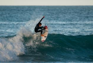 Todd Doyle has been honing his competition approach for the ISA world junior surfing championships in Peru.