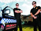 Rent-A-Cop senior security operators Stuart Ganley (left) and Steve Bull are in high demand to keep teen parties under control.