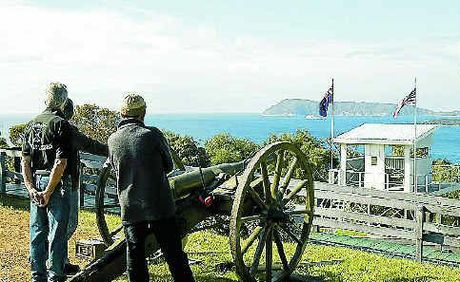 KEEP A LOOKOUT: The Princess Royal Fortress not only has military memorabilia but also great scenic vantage points.