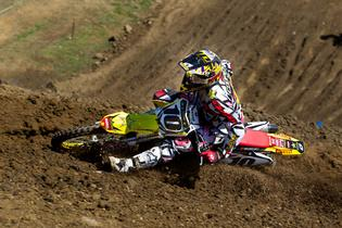 Team Rockstar Motul Suzuki's Pro Open challenger Cody Cooper conquered treacherous, muddy conditions at the first round of the Australian National Motocross Championship.