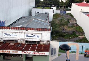 DEAL: Paxie's Building and the empty section next door have been sold after seven years. PHOTO/DOUG LAING