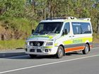 Emergency crews were called to the single-vehicle incident at 1.20pm.