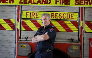 Fire chief Ron Devlin, 53, has been in Tauranga for 12 years and oversees 19 stations from Tauranga to Waihau Bay, looking after 80 paid staff and more than 400 volunteers.