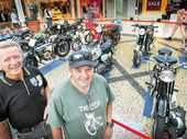 "THERE might just be a 'World's Fastest Indian' in the collection of Coffs Harbour's motorcycle restorers, who live by the motto ""keep your motor running""."