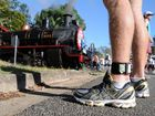 Fitness fanatics and fun-runners alike raced the Rattler from Dagun to Gympie. A team called the Losers beat the Rattler to the finish line by half a second.