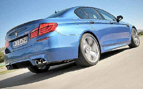Фотогалерея BMW M5 F10 / страница 2.