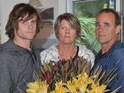 Michael and Sue Clunes with son Ben have expressed their gratitude to the police working on the case of Nick's death.