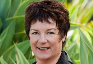 Napier Mayor Barbara Arnott