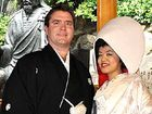 Former St Joseph's College student Matthew Richardson and Kana Nagabe had a traditional wedding ceremony in Japan in May.