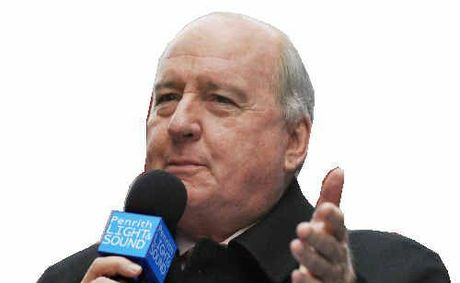 2GB announcer Alan Jones.