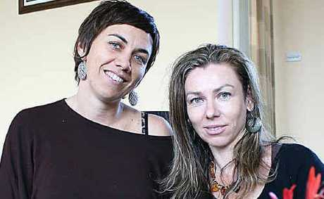 Breaking Free co-facilitators Naomi Schuelein and Monika Obirek.