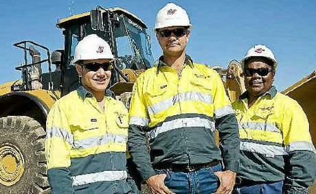 Bechtel trainees Geoffrey Prizeman, Calvin Von Seden and Ilona Patullo have gained full employment on the Queensland Curtis LNG project with assistance from the Gladstone Workforce Skilling Strategy.