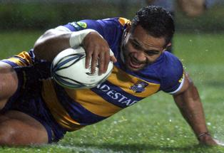 MORE PLEASE: Lelia Masaga says he tries to score a try in every game - and Steamer fans will be hoping he sticks to that formula during the ITM Cup.
